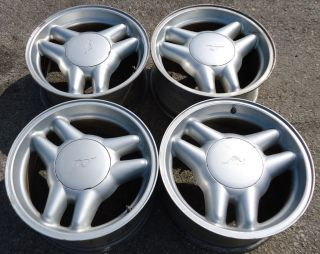 Set of 4 17 inch wheels Ford Mustang GT aluminum 94 95 96 OEM wheels