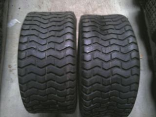 TWO 16/6.50 8 and TWO 23/10.50 12 JD Sabre 2148 Garden Tractor Turf