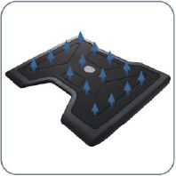 Master NotePal X2 Laptop Cooling Pad with 140mm Blue LED Fan