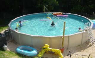30 x 52 Round Above Ground Swimming Pool