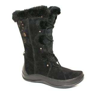 New The North Face Womens Abby III Boots Winter Shoes Black Size 10