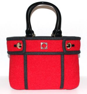 NWT Kate Spade Chestnut Hill Alda Quinn Tote Red Retail $298 WKRU1667