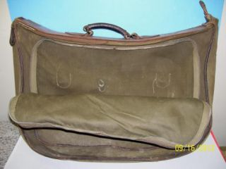 WWII Army Air Forces Type B 4 Flight Bag w aaf Insignia