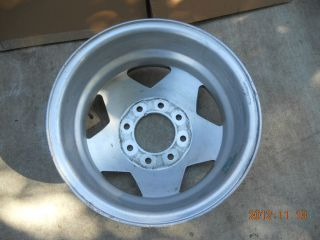 JUST POLISHED ALCOA DUALLY ALUMINUM WHEEL CHEVY GMC TRUCK 1 TON FORD