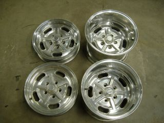 American Racing Vintage Salt Flat Wheels 15x10 15x4 hot rat rod