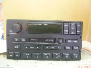 99 02 Ford Expedition RDS DSP Alpine Radio Cassette YL7F 18C870 CB