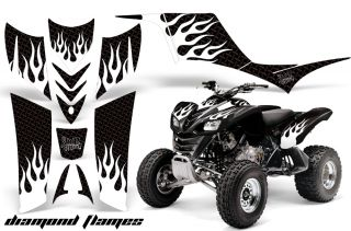 AMR Quad Graphics Sticker Kit Kawasaki KFX700 KFX 700 F