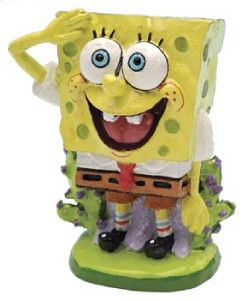 Spongebob Squarepants Aquarium Ornament Mini Spongebob