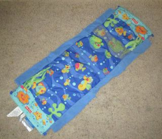 Fisher Price Ocean Wonders Aquarium Tummy Time Baby Play Mat