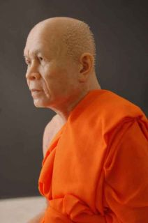 Wax Museum Quality Buddhist Monk Figure Extreme Art 1