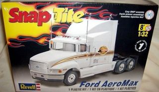 revell 1 32 ford aeromax conventional truck w sleeper time