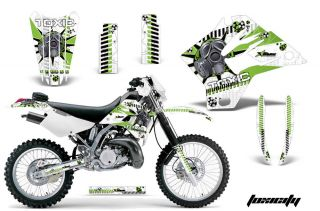 AMR RACING MOTORCYCLE GRAPHICS STICKERS WRAP KIT KAWASAKI KDX 200 220