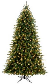 New 7 5 Aspen Pine Prelit Artificial Christmas Tree 1772 Tips 600