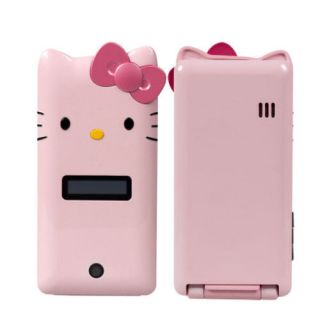 Screen Dual Sim Quad Band Flip Hello Kitty at T Cell Phone K2