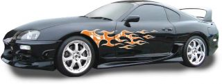 Diablo Vinyl Graphics Decals Stripes Dodge Chevy Ford Truck Car Skull