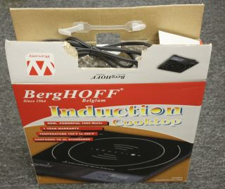 BergHOFF Single Touch Screen Induction Cook Top MODEL 1810003