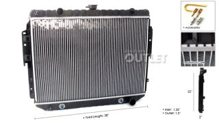 03 Dodge RAM Van 94 03 B150 B250 Radiator 3 9 V6 5 2 5 9 V8 New