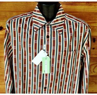 NWT AXIST Modern Coast Mens Size L Large Casual Dress Shirt $115 Nice