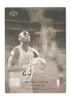 Jordan McDonalds Upper Deck Hologram Basketball Trading Card