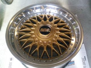 BMW BBs RC090 Split Rims 17 BBs RS RC LM Style 5 Gold Wheels BMW M3