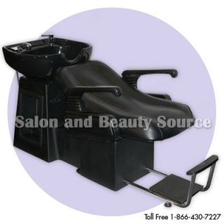 Shampoo Backwash Unit Bowl Chair Bed Salon Equipment LS
