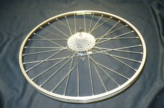 Bike Wheel Set Rear Rim Mavic with Shimano Hyper Glide Gears