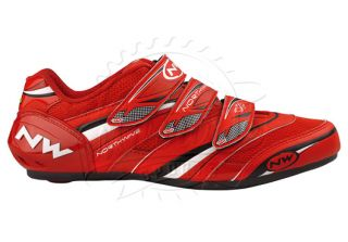 wave vertigo carbon reinforced 3strap road cycling shoe