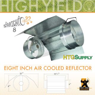 Cooltube Reflector Air Cooled 6 8 Grow Light Cool Tube Glass Hood