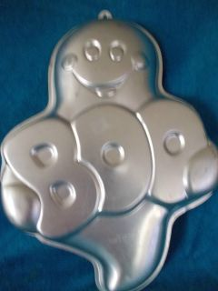 1988 Boo Ghost 2105 1031 Halloween Birthday Cake Pan Mold