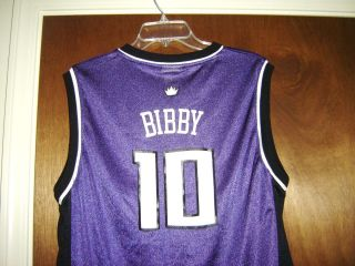 MIKE BIBBY SACRAMENTO KINGS NBA Jersey Throwback Shirt vtg Youth XL or