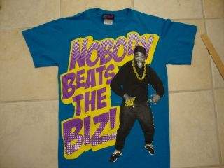 Nobody Beats The Biz Markie Rap Hip Hop T Shirt S