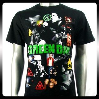 Green Day Billie Joe Punk Rock Band T Shirt Sz XL