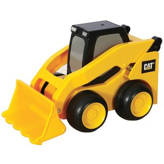 Cat Press Roll Skid Steer Construction Toy Truck New