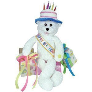 Lane 19 Birthday Bear Sings Happy Birthday New Figures Plush