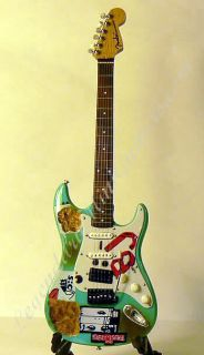 Billy Joe Armstrong Miniature Burned Fender™ Stratocaster™