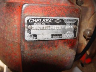 1999 Chelsea PTO Blackmer Sliding Vane Pump Shafts