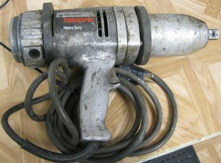 Black Decker Heavy Duty Electic Wrench Impact Gun Cored Used