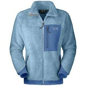 NWT  New Womens Blue Mountain Hardwear Monkey Fleece Jacket Size L