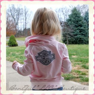 BonEful RTS Boutique Girl 4 5 New Sweatshirt Pink Top Shirt Harley
