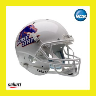 BOISE STATE BRONCOS WHITE OFFICIAL FULL SIZE XP REPLICA FOOTBALL