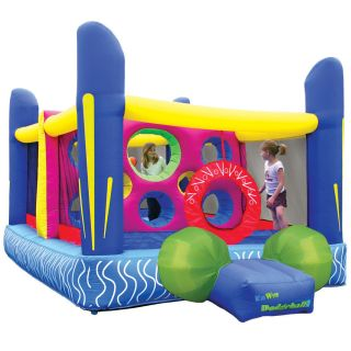 Inflatable Bounce House Jumping Dodgeball Bouncer