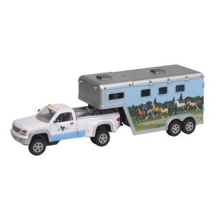 Breyer Horses Stablemates Pickup Truck and Trailer 5350 Pony Care Set