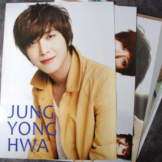POP CNBLUE JUNG YONG HWA 12 Posters Collection Bromide NEW 2012 12PCS