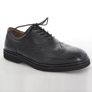 Florsheim Bristow Win Tip Black Leather Dress Shoes for Men