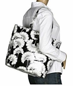 KATE SPADE Florence Broadhurst Tote/Shopper Floral Black/White