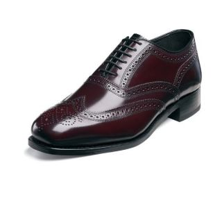 Florsheim Mens Lexington Wing Tip Brogue BURGUNDY17066