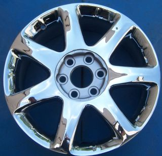 ONE 2008 2009 2010 BUICK ENCLAVE 19 FACTORY WHEEL RIM CHROME 4078 NICE