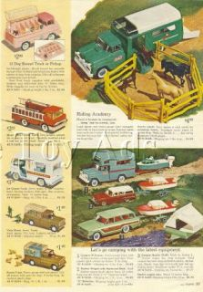 1964 Buddy L camper Boat Sets Riding Academy Ad