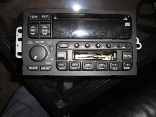 Buick Century Regal LeSabre Park Avenue Single Disc CD Cassette Player