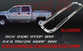 2009 2011 Chevy Silverado Crew Cab Nerf Bars Side Step